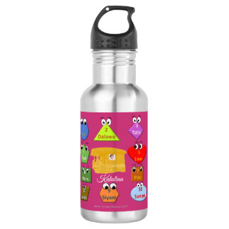 Learn how to count in Filipino 532 Ml Water Bottle