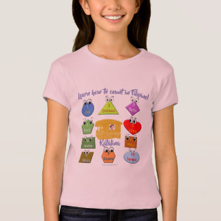 Learn how to count in Filipino T-Shirt