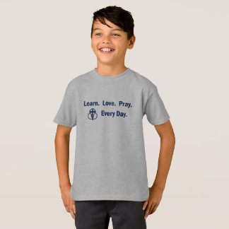 Learn Love Pray - Boy's T-shirt