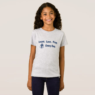 Learn Love Pray - Girl's T-shirt