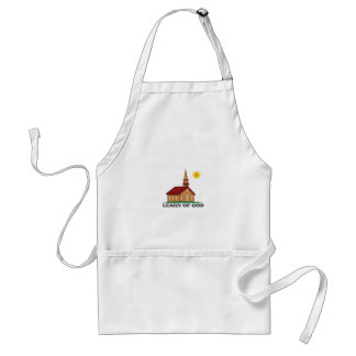 learn of god church standard apron