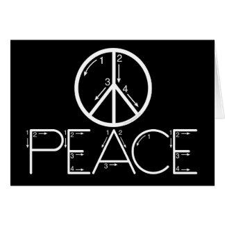 Learn Peace Card
