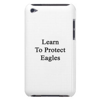 Learn To Protect Eagles iPod Touch Covers