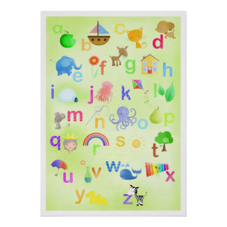 Learn your ABC poster