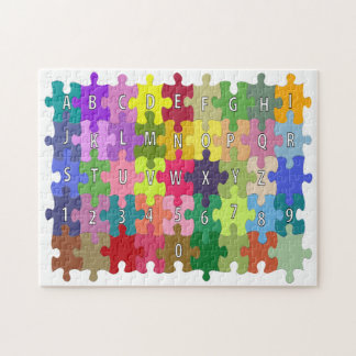 LEARN YOUR ABCs and 123s JIGSAW PUZZLE