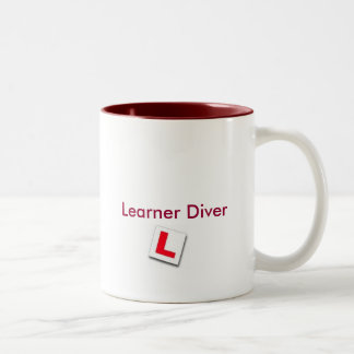 LEARNER DIVE - Customized Two-Tone Coffee Mug