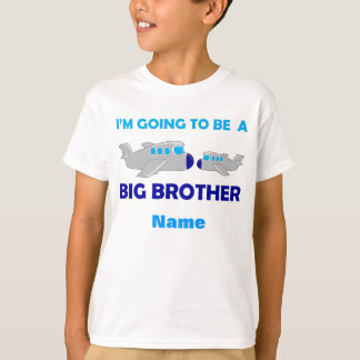Learning Candy Big Brother Cute Airplane T-Shirt
