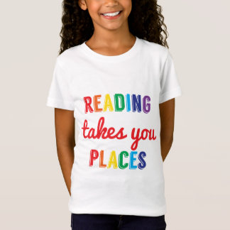 Learning Candy Reading Takes You Places Motivation T-Shirt