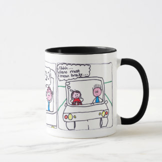 Learning Spanish - the driving lesson Mug