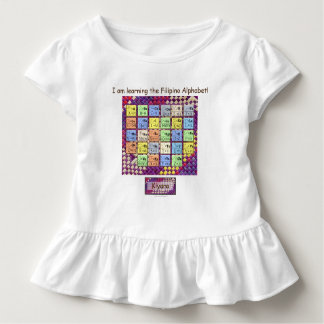Learning the Filipino Alphabet Toddler T-Shirt