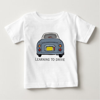 Learning to Drive Custom Baby Fine Jersey T-Shirt