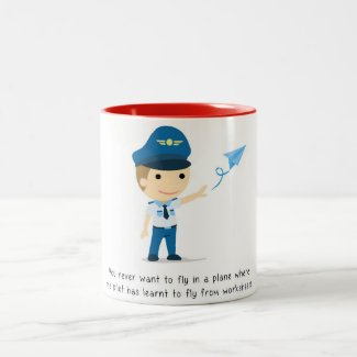 learning to fly - Mug