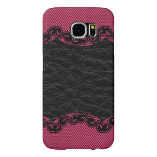 Leather and Lace Samsung Galaxy S6 Cases