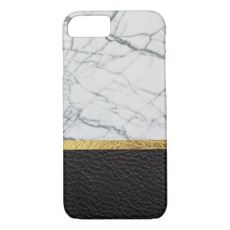 leather and marble iPhone 7 case