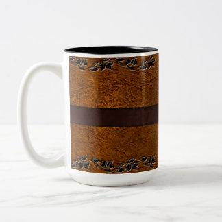 Leather & Belt Brown Leather Mug