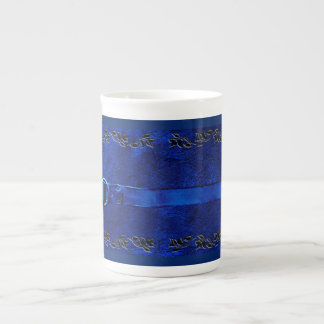 Leather & Belt Rich Blue Coffee Mug