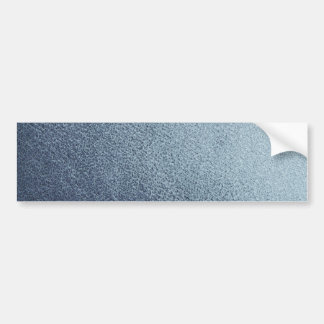 Leather blue background bumper sticker