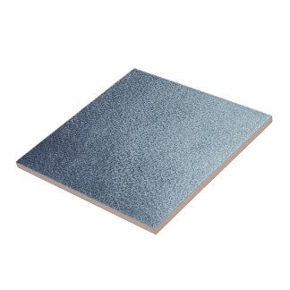 Leather blue background tile