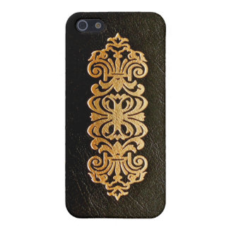 Leather Book Cover iPhone 5 Cases