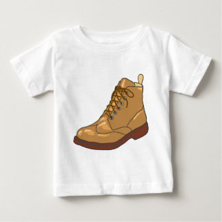 Leather Boot Sketch Baby T-Shirt