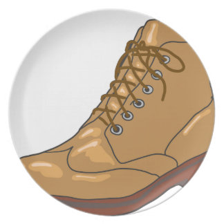 Leather Boot Sketch Plate