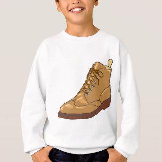 Leather Boot Sketch Sweatshirt