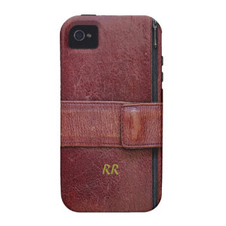Leather Bound Personal Organiser iPhone 4/4S Tough Vibe iPhone 4 Case