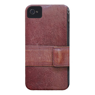 Leather Bound Personal Organizer Blackberry Bold iPhone 4 Case