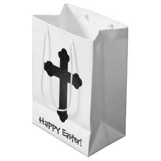 Leather Cross Easter Gift Bag