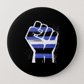 LEATHER DADDIES RESIST - LGBT RESISTANCE - -  10 CM ROUND BADGE
