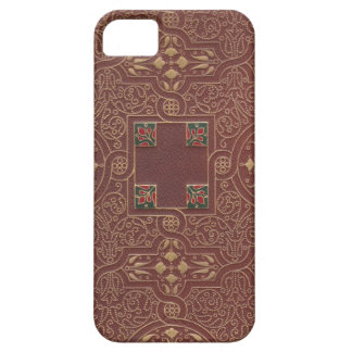 Leather Design, Antique Style Barely There iPhone 5 Case