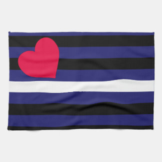 Leather Latex and BDSM Pride Flag Tea Towels