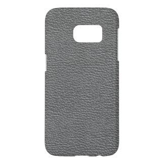 Leather like grey