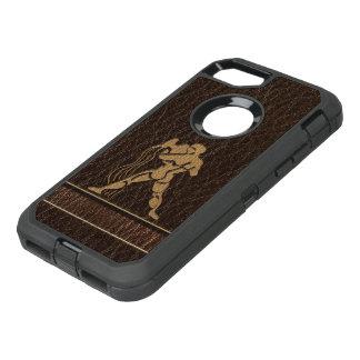 Leather-Look Aquarius OtterBox Defender iPhone 8/7 Case