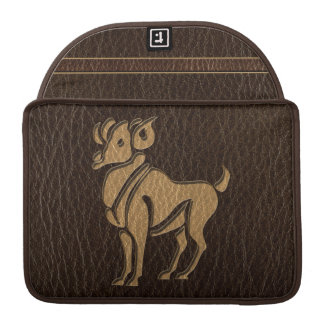 Leather-Look Aries MacBook Pro Sleeve