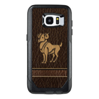 Leather-Look Aries OtterBox Samsung Galaxy S7 Edge Case