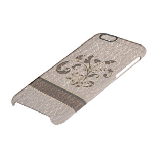 Leather-Look Bouquet 2 Soft Clear iPhone 6/6S Case