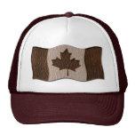 Leather-Look Canada Flag Dark