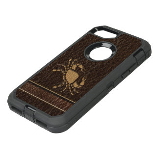 Leather-Look Cancer OtterBox Defender iPhone 8/7 Case