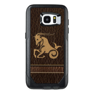 Leather-Look Capricorn OtterBox Samsung Galaxy S7 Edge Case