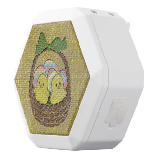 Leather-Look Easter Basket White Boombot Rex Bluetooth Speaker