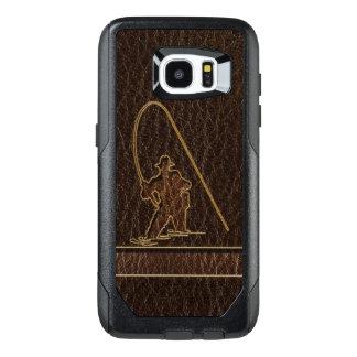 Leather-Look Fisherman Dark OtterBox Samsung Galaxy S7 Edge Case