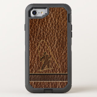 Leather-Look Fisherman OtterBox Defender iPhone 8/7 Case