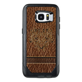 Leather-Look Flower 2 OtterBox Samsung Galaxy S7 Edge Case