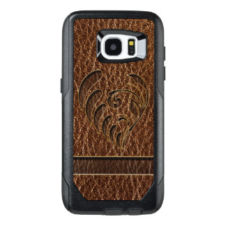 Leather-Look Flower OtterBox Samsung Galaxy S7 Edge Case