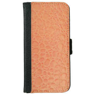 Leather Look iPhone 6 Wallet Case