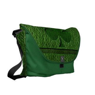 Leather-Look Irish Clover Commuter Bag