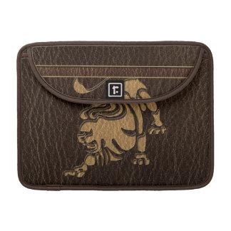 Leather-Look Leo MacBook Pro Sleeve