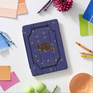 Leather-Look Native American Zodiac Beaver iPad Pro Cover