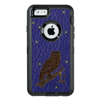 Leather-Look Native American Zodiac Owl OtterBox iPhone 6/6s Case